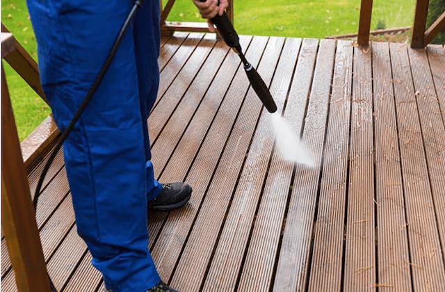 deck cleaning carmel