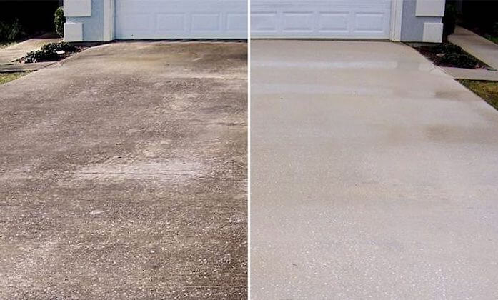 carmel driveway cleaning