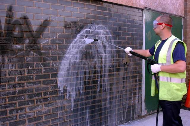 graffiti removal in carmel